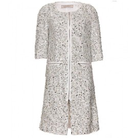 Nina Ricci - SEQUINED BOUCLÉ COAT