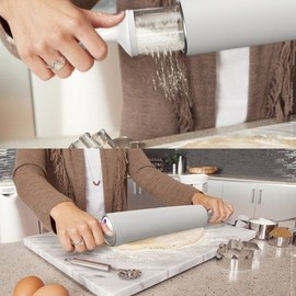 quirky - Twisted Sifter - flour dusting rolling pin