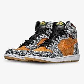 The Shoe Surgeon, Jordan Brand, NIKE - Air Jordan 1 Hi - Atmos Safari Lux (Custom)
