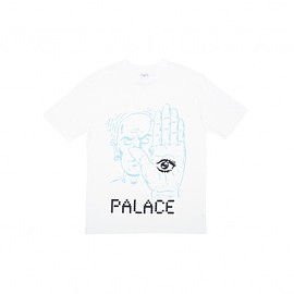 Palace Skateboards - TALK TO THE HAND T-SHIRT WHITE
