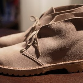"Clarks  - 90's ""British Army""DesertBoot (Commando Sole)  made in ENGLAND"