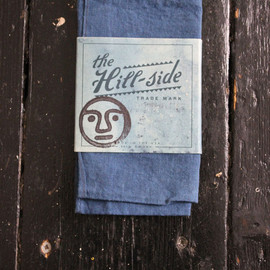 TENDER Co - TENDER CO. & THE HILL-SIDE WOAD DYED POCKET SQUARE