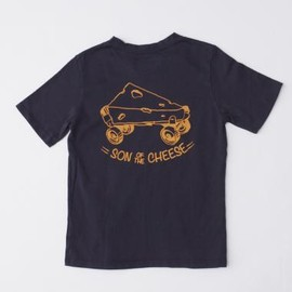 SON OF THE CHEESE - SKATE TEE(D.NAVY)