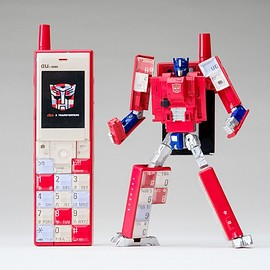 au, タカラトミー - au×TRANSFORMERS PROJECT INFOBAR OPTIMUS PRIME(NISHIKIGOI)