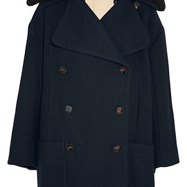 Chloé - Double-breasted wool-blend coat