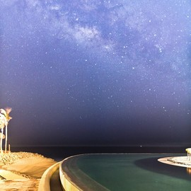 Cabo San Lucas, Mexico. - Stars over the infinity pool/Amazing!!