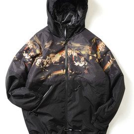 Lafayette - INDEPENDENT PATTERN POLYESTER PARKA