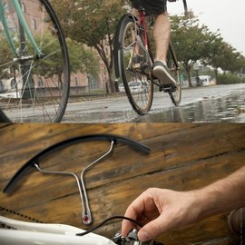 quirky - Buffer - quick release bike fender