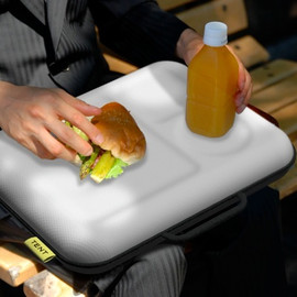 TENT - LUNCHPLATE briefcase