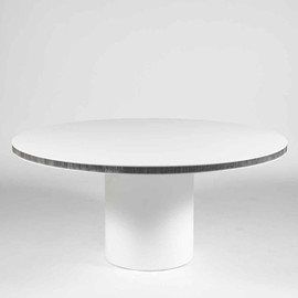 Martin Szekely - NPB Table, Super Light Concrete & Aluminium