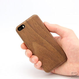 EVOUNI - iPhone Carbon Wood Cover