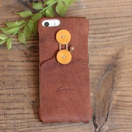 litsta - iPhone Dress for iPhone5/5c/5s / BROWN