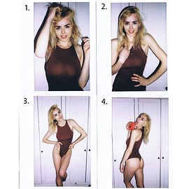 danielle sharp - Bodysuit Polaroids