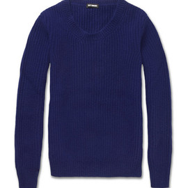 Raf Simons - Ribbed Knitted Wool-Blend Sweater
