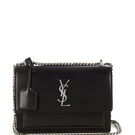 SAINT LAURENT - Sunset Monogram leather cross-body bag