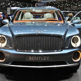 Bentley - EXP 9 F SUV Concept