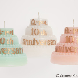 Q-pot., SWATi - 10th Anniversary candle キャンドル