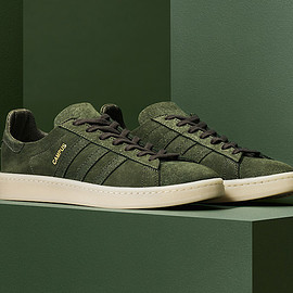 adidas originals - Campus (Originals Crafted Pack) - Dark Green