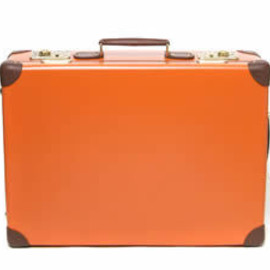 "GLOBE-TROTTER - original 21"" trolley case Orange"