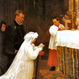 Pablo Picasso - The First Communion, 1896