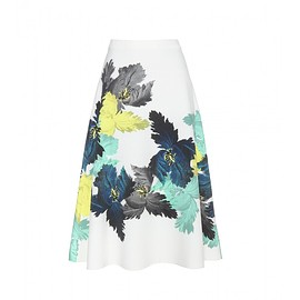 Erdem - Pre-Fall 2015 Maury printed stretch crepe skirt