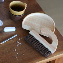 Table Broom & Dust Pan
