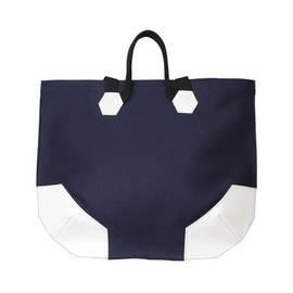 POKIT - POKIT_TOTE BAG_NAVY×WHITE