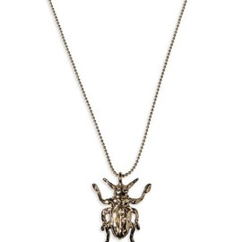 McQ, Alexander McQueen - insect necklace