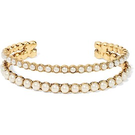 Marc Jacobs - Gold-plated faux pearl cuff