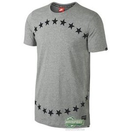 NIKE - Nike F.C. - T-shirt Stars Grey/Black