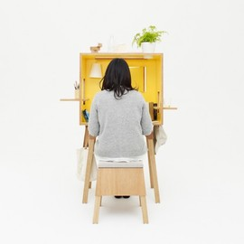 TORAFU ARCHITECTS - koloro desk and stool