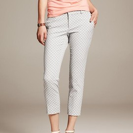 Banana Republic - Hampton-Fit Jacquard Crop