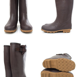 Columbia - RUDDY Long Rain Boots (MADDER BROWN)