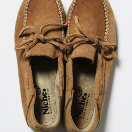 Niche. - suede camp moc shoes