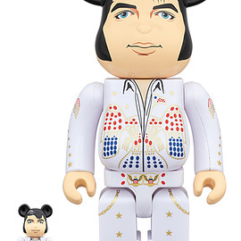 MEDICOM TOY - BE@RBRICK ELVIS PRESLEY 100% & 400%