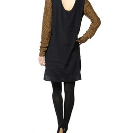 3.1 Phillip Lim - slip dress w/faux sweater front and sleeves