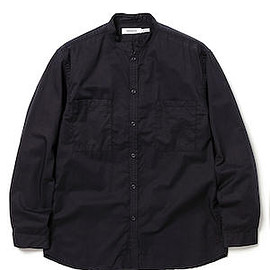 nonnative - MASTER BIG SHIRT COTTON SATIN