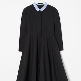 COS - Full-skirted shirt dress