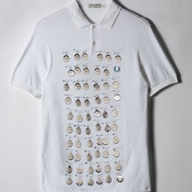 Fred Perry - 60 years model by i-D magazine