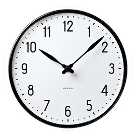 "Arne Jacobsen - ""STATION""  Wall Clock Starion  43643 290mm"