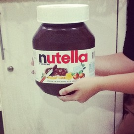 Ferrero - Giant Nutella Jar