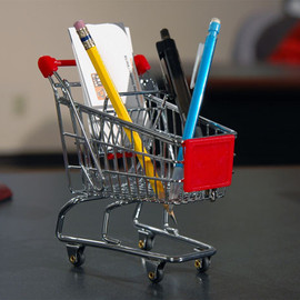 Minya International - Mini Shopping Cart