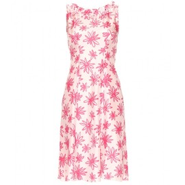 Nina Ricci - FLORAL-PRINT SILK DRESS