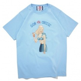 SON OF THE CHEESE - JUICE TEE L/Bule