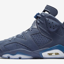 "NIKE - NIKE AIR JORDAN 6 RETRO ""JIMMY BUTLER"" DIFFUSED BLUE/DIFFUSED BLUE-COURT BLUE"