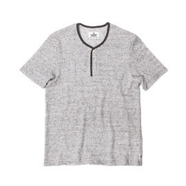 Reigning Champ - SS HENLEY - HEATHER ASH
