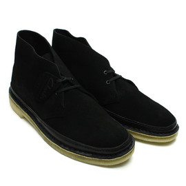 Clarks - Desert Guard - Black Suede