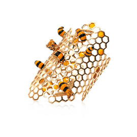 DELFINA DELETTREZ - Gold To bee or not too bee cuff