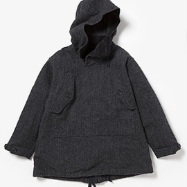 Engineered Garments - OVER PARKA - 24oz WOOL HB