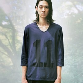 LAD MUSICIAN - T-SHIRT (LAD MUSICIAN X THE NOVEMBERS - MEN'S NON-NO 25TH ANNIVERSARY COLLECTION)